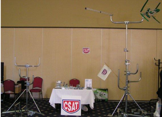 expozícia CSAT  ( Senec  24.6. 2013 )